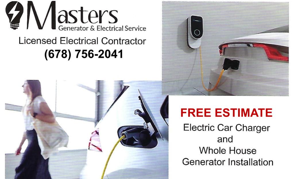 Masters Free Estimate Car Charging and Generators