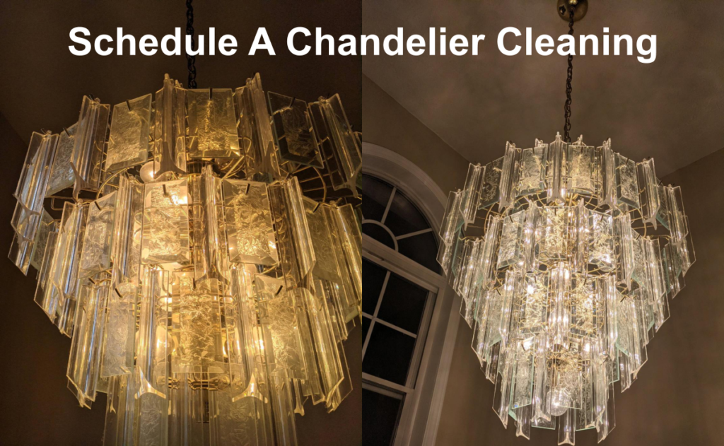 Masters Chandelier Cleaning